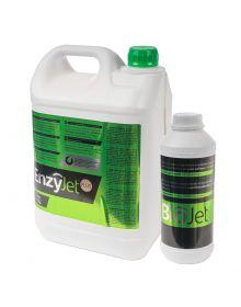 BioJet + EnzyJet Plus = rimozione del Biofilm su superfici aperte