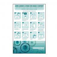 adesivo riposizionabile - come lavare le mani