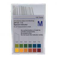 Strisce monouso per misurazione del pH nelle carni